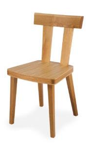 Solid Oak Chair, Oak Seat