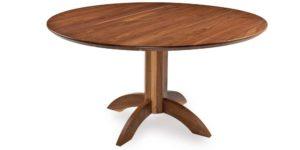 Walnut Round Kitchen Table