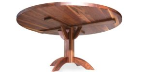 Walnut Round Dinning Table