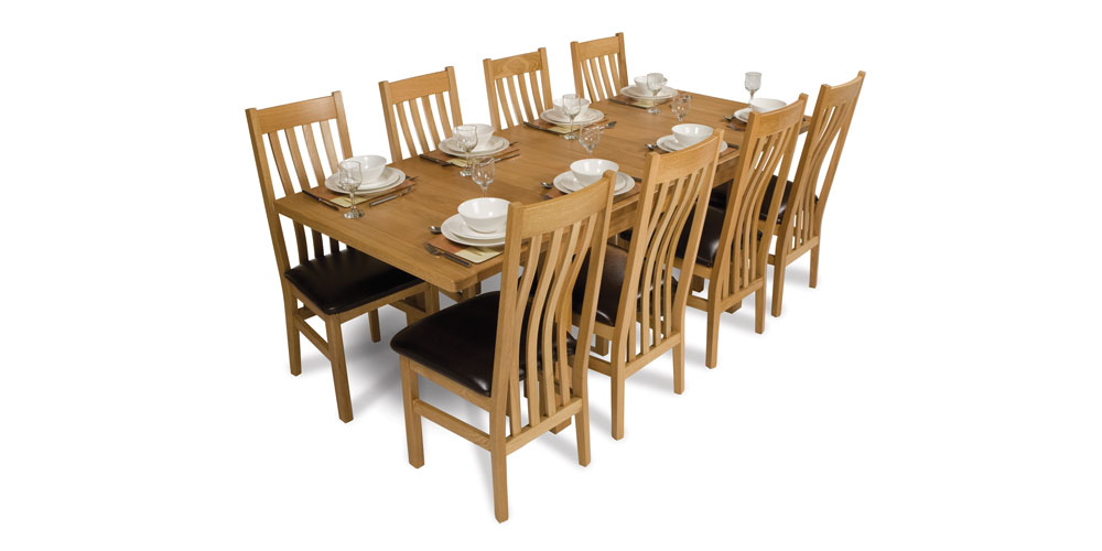 Oak Dinning Table, Kitchen Table,