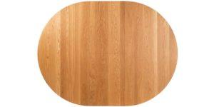 Round Oak Flip top Extending Kitchen Table