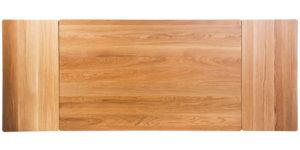 Solid Oak Extending Drawleaf Kitchen Table