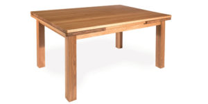Solid Oak Extending Drawleaf Kitchen Table