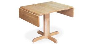 Solid Oak, Rectangular Drop Leaf Kitchen Table