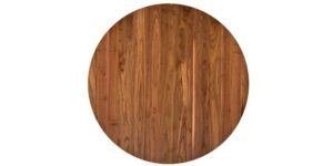 Walnut Round Flip Top Kitchen Table and chairs
