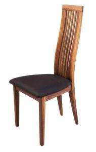 Turin Solid Walnut Side Chair