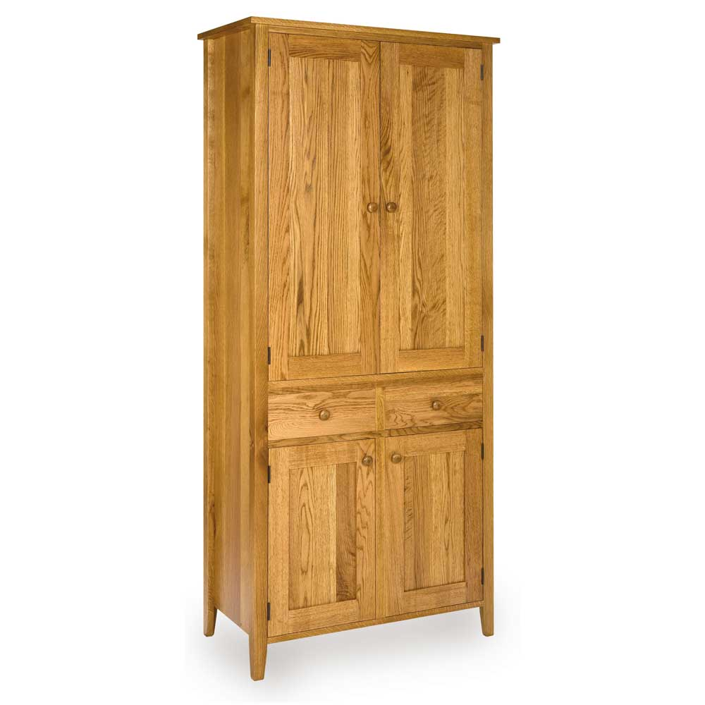 Oak Shaker Larder with light stain