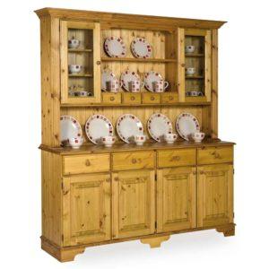 Pine Glazed Spice Drawer Dresser