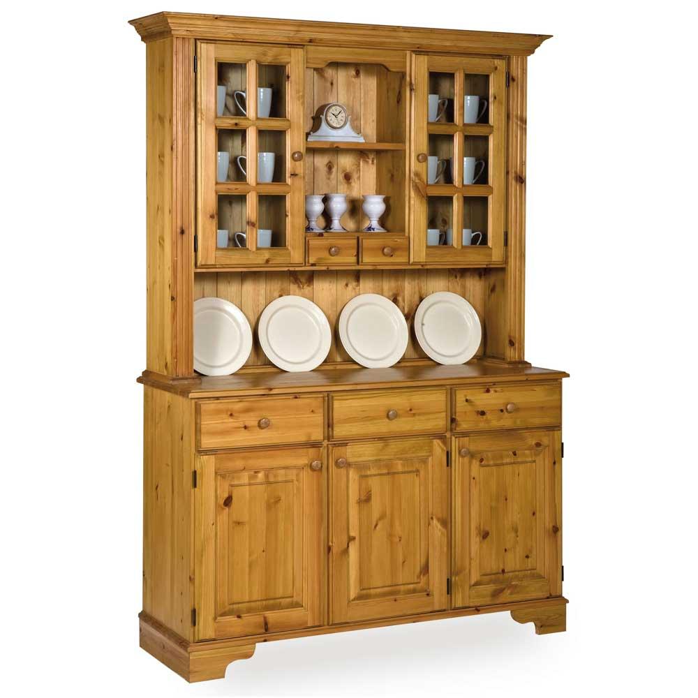 Pine Glazing Bar Spice Drawer Dresser