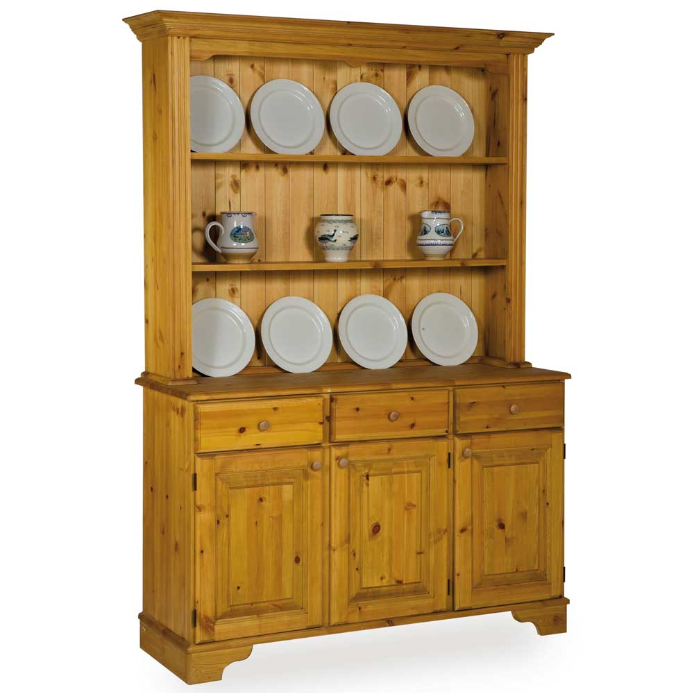 Pine Open Rack Dresser