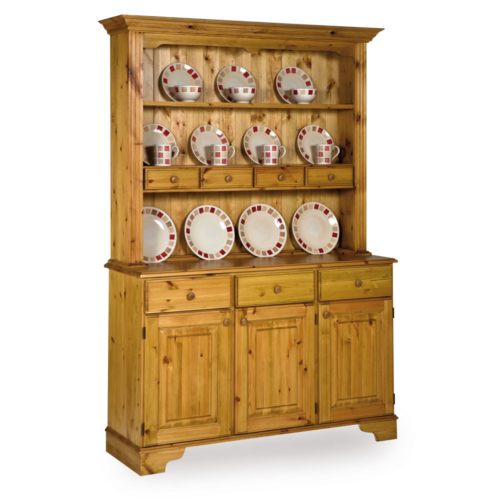 Pine Spice Drawer Dresser