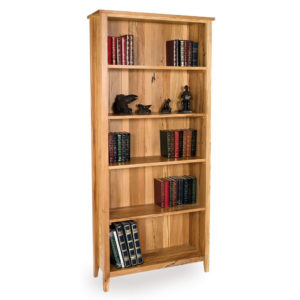 Spalted Beech Bookcase