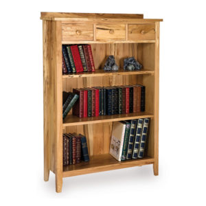 Spiced Drawer Spalted Beech Bookcase