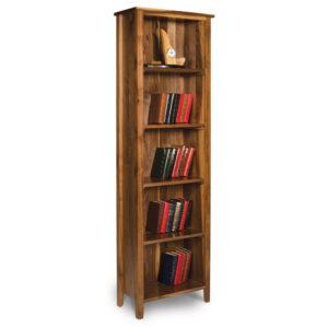 Walnut Shaker Bookcase