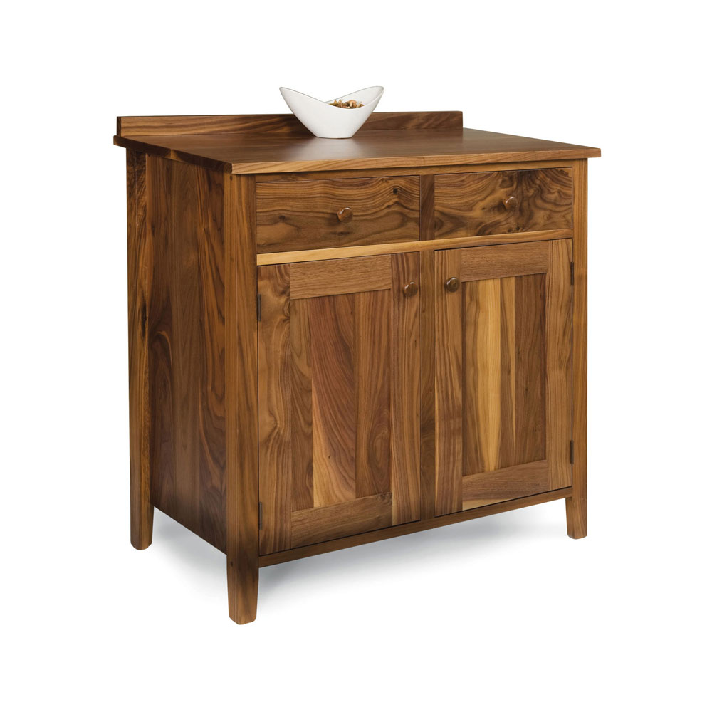 Walnut Shaker Sideboard