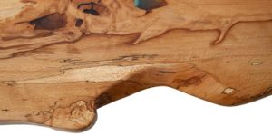 Spalted Beech Resin Green River Table