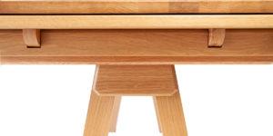 Oak Rectangular Drawleaf Extending Shannon Table