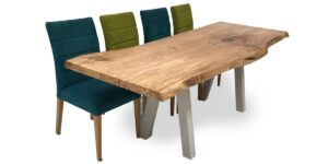Spalted Beech Slab Table (made to order)