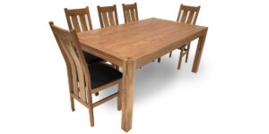 Oak Rectangular Contemporary Table (1 only)