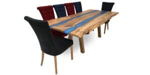 Spalted Beech Rectangular Double River Table (1 only)