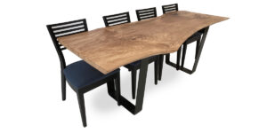 Splated Beech Ophilia Range Table Mryal Plate Legs (1 only)