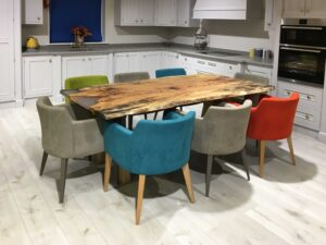 Spalted-Beech-Clear-Resin-Table-Rustic-Timber-Leg