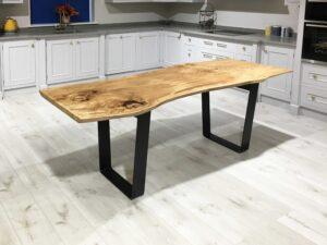 Spalted-Beech-Slab-Resin-Table-Steel-Loop-Leg