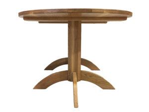 Oak Oval Double Pedestal Table